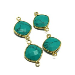 Wholesale Jewelry !! Turquoise 925 Silver Jewelry Connectors Silver Jewelry