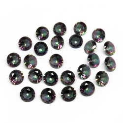 Superb Gemstone !! Cut Stone Mystic Topaz Rainbow Color Gemstone