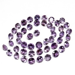 A Perfect Gems !! Purple Color Amethyst Cat Stone Gemstone