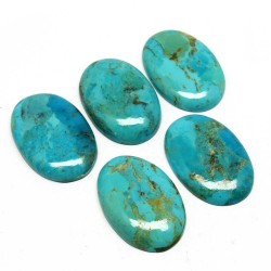 Green Gems !! Unique Turquoise Gemstone Oval Shape Gemstone