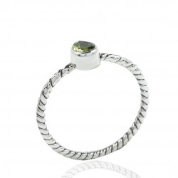 Peridot Ring Solid 925 Sterling Silver Ring Handmade Boho Ring Wholesale Silver Ring Jewelry
