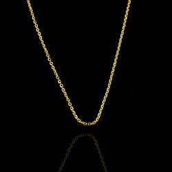 Rolo Chain 14k Gold Chain Spring Ring Lock Adjustable Chain Necklace Handmade Jewelry