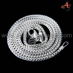 Big Promotions Curb Chain Plain Silver 925 Sterling Silver Chain