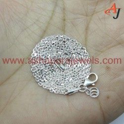 Rich Design !! Cable Chain Plain Silver 925 Sterling Silver Chain