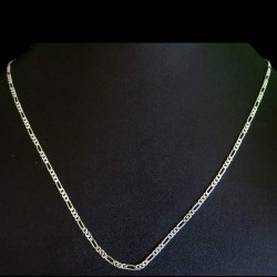 Springring Lock Plain Silver 925 Sterling Silver Chain