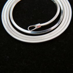 Awesome White Plain Silver 925 Sterling Silver Chain