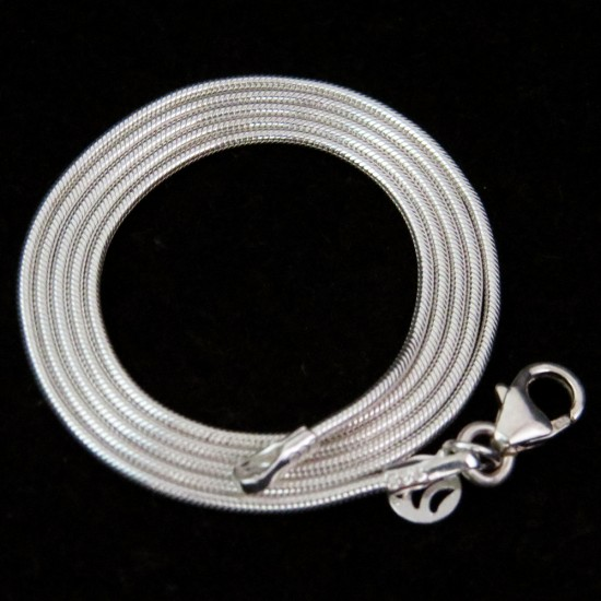 Real Pretty White Plain Silver 925 Sterling Silver Chain