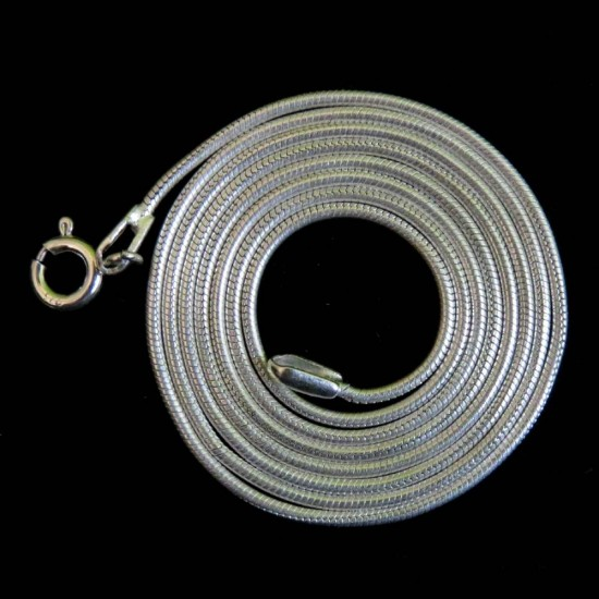 Sterling Snake Chain !! Plain Silver 925 Sterling Silver Chain