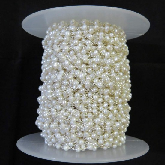 Amazing Gemstone Beads !! Antique Jewelry Beads Pearl White Color Gemstone Beads