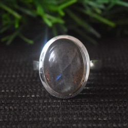 Labradorite Gemstone Silver Jewelry Ring