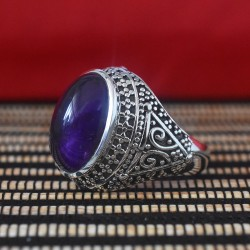 Wow Amethyst 925 Sterling Silver Ring
