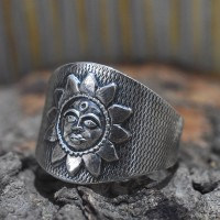 Lord Sun Plain 925 Sterling Silver Ring