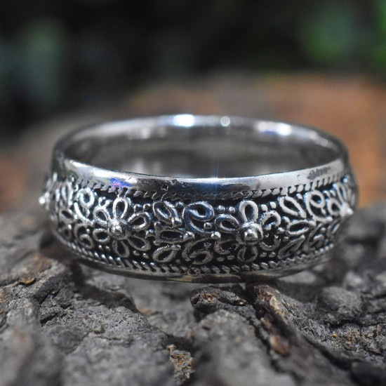 New Design Plain 925 Sterling Silver Spinner Ring