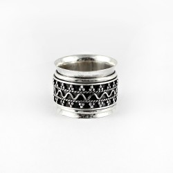 925 Sterling Plain Silver Handmade Band Ring Oxidized Jewelry