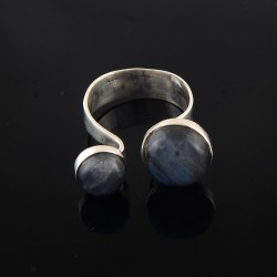925 Free Size labradorite Silver Jewelry Gemstone Silver Jewelry Handmade Indian Silver Ring