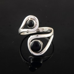 Black Onyx Black Color Gemstone Silver Jewelry Ring 925 Indian Silver Ring