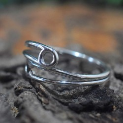 Antique Look Silver Band Ring Solid 925 Sterling Silver Manufacture Silver Jewellery