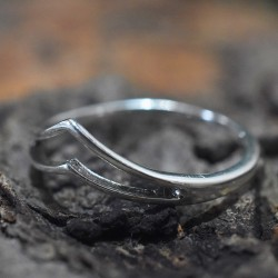 Band Ring 925 Sterling Plain Silver Jewellery Wholesale Silver Jewellery Engagement Ring Gift For Her