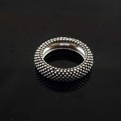 Band Ring 925 Sterling Silver Women Handcrafted Ring Jewelry