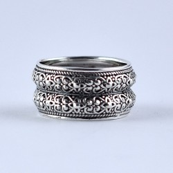 Band Ring Handmade 925 Sterling Plain Silver Indian Silver Jewellery Manufacture Jewellery