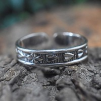 Band Ring Oxidized Jewelry Boho Ring 925 Sterling Silver Handmade Silver Jewelry For Her