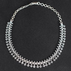 My Feelings !! Beautiful Handmade Necklace 925 Sterling Silver Indian Silver Jewelry