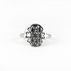 Chakra Ring 925 Sterling Plain Silver Handmade Party Wear Jewelry