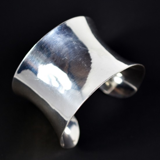 Cuff Bangle 925 Sterling Solid Silver Jewelry Wholesale Plain Silver Jewelry Manufacture Silver Jewelry