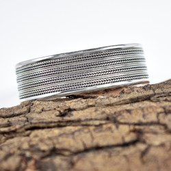 Cuff Bangle Plain Silver Jewellery Handmade 925 Sterling Silver Jewellery Party Wear Jewellery