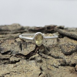 Great Impression Yellow Citrine 925 Sterling Silver Ring