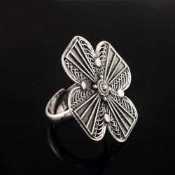 Adjustable Silver Ring !! Fancy Ring 925 Sterling Silver Handmade Ring Boho Jewelry