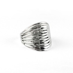 Handmade 925 Sterling Plain Silver Fine Ring Jewelry Gift For Her