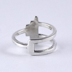 Handmade 925 Sterling Plain Silver Ring Wholesale Silver Ring Jewelry Exporter