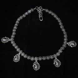 Attractive Look Necklace !! Handmade Design 925 Sterling Silver Necklace