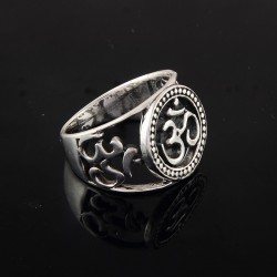Indian Religious Ring Jewelry 925 Sterling Silver Women Ring Jewelry
