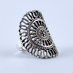 Indian Silver Ring Jewellery Handmade 925 Sterling Silver Manufacture Silver Jewellery