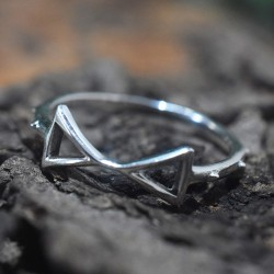 Infinity Band Ring Handmade 925 Sterling Plain Silver Ring 925 Stamped Silver Jewellery