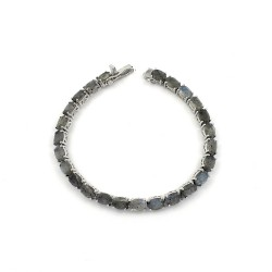 Labradorite Bracelet 925 Sterling Silver Jewelry Gift For Her