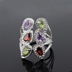 Adjustable Silver Ring !! Multi Option 925 Sterling Silver Rhodium Plated Ring
