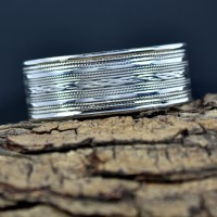 Plain Silver Cuff Bangle Handmade Silver Jewelry Solid 925 Sterling Silver Bangle Bracelet Jewelry
