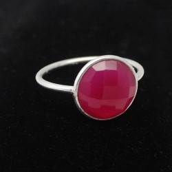 Amazing !! Red Onyx 925 Sterling Silver Ring Jewelry