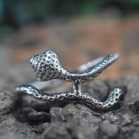 Snake Design Ring Solid 925 Sterling Silver Indian Silver Jewelry Manufacture Silver Jewelry