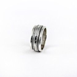 Spinal Band Ring 925 Sterling Plain Silver Jewelry Gift For Her