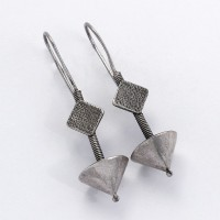 Antique Fashion Jewelry !! Stylish Fancy 925 Sterling Silver Drop Dangle Earring Indian Artisan Design Jewelry