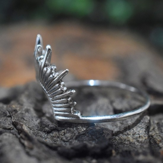 Unique Design Silver Band Ring Solid 925 Sterling Plain Silver Handmade Ring Jewellery